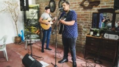Artistas pocitanos actuaron en distintos lugares vinculados al turismo durante Semana Santa